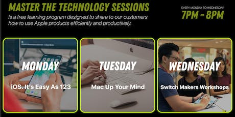 Master the Technology Sessions! at Switch Paragon Mall tickets