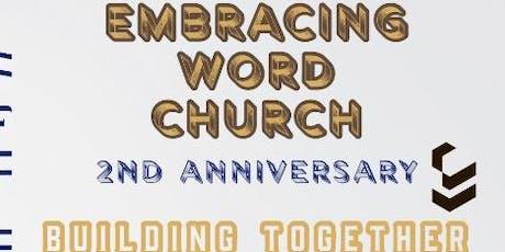 Embracing Word Church Anniversary  tickets