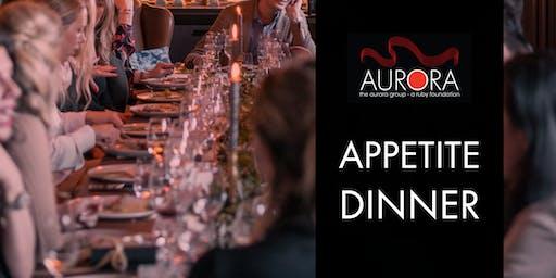 Aurora Appetite Dinner
