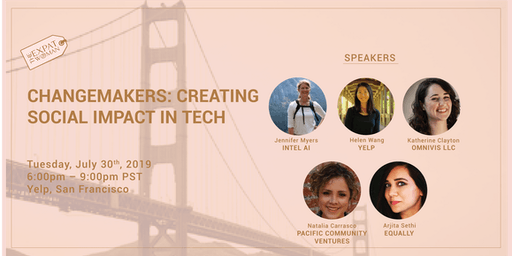 Changemakers: Creating Social Impact in Tech