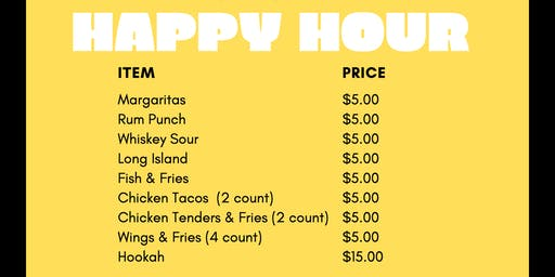Happy Hour @ Fin & Feathers ATL