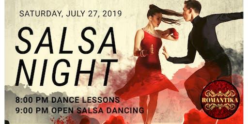 Salsa Night at The RomantiKa: July 27, 2019