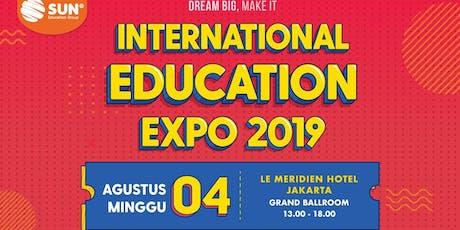 International Education Expo Jakarta 2019 tickets