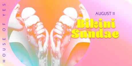 Bikini Sundae Pool Party tickets