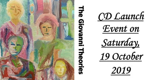 The Giovanni Theories - CD Launch Event