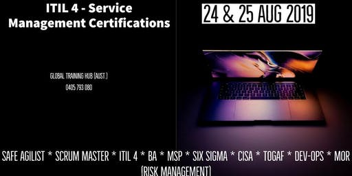 ITIL 4 - FOUNDATION TRAINING & CERTIFICATION