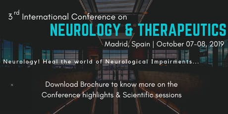 World Congress on Neurology & Therapeutics (3rd WCNT) tickets