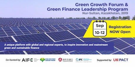 Green Growth Forum and Green Finance Leadership Program tickets