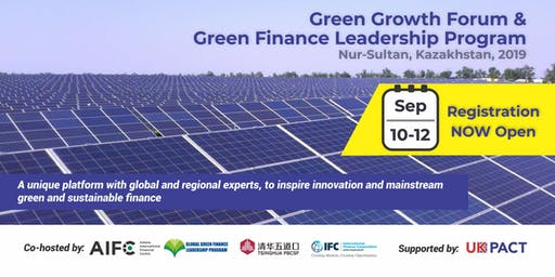 Green Growth Forum and Green Finance Leadership Program