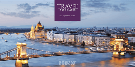 2020 European River Cruising with Scenic tickets