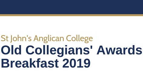 St John's Old Collegians' 2019 Awards Breakfast