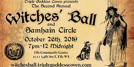 TGC Presents 2019 Witches' Ball tickets