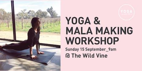 Yoga & Mala Making Workshop tickets