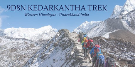 9D8N Western Himalayas Trek Retreat tickets
