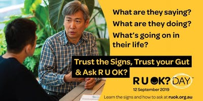 RUOK? Day Staff Morning Tea Pack - Kingswood Campus