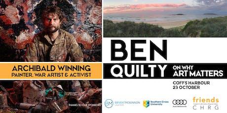 BEN QUILTY: Why Art Matters tickets