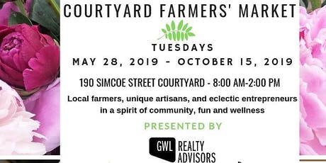 Courtyard Farmers' Market tickets