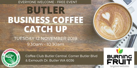Business Coffee Catch Up Butler tickets