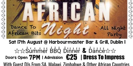 Afro Corporate Events Presents African Night  tickets