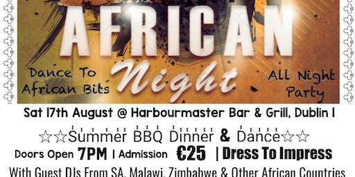 Afro Corporate Events Presents African Night