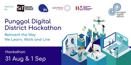 Punggol Digital District Hackathon tickets