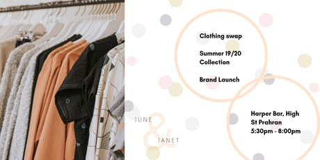 June & Janet Clothing Swap & Brand Launch tickets
