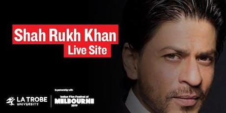 Shah Rukh Khan Live Site tickets