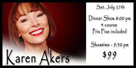 Karen Akers 7/27 tickets