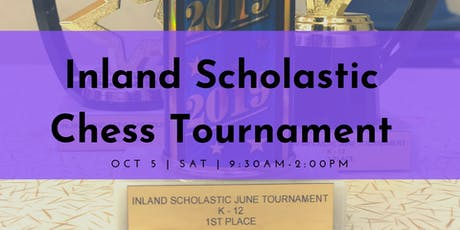 Inland Scholastic Chess Tournament tickets
