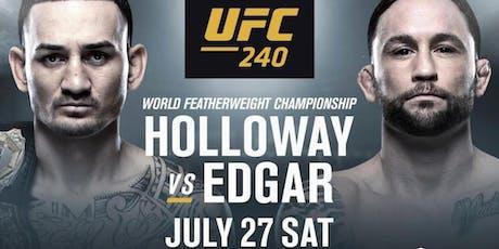 UFC 240 - HOLLOWAY VS. EDGAR tickets