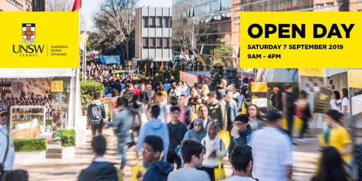 UNSW Open Day 2019