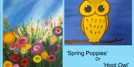 School Holidays PAINT N FUN for Kids age 10+ sessions throughout holidays tickets