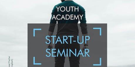 J2: Ideen umsetzen: Dein erstes Startup Tickets