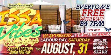 Issa Vibes ( Cabana Lifestyle) tickets