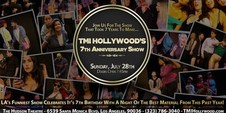 TMI Hollywood's 7th Anniversary Show tickets