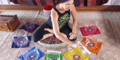 Tue 6pm Restorative Chakra Yoga $25