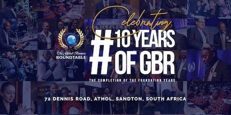 GBR 10th Anniversary  Celebration entradas