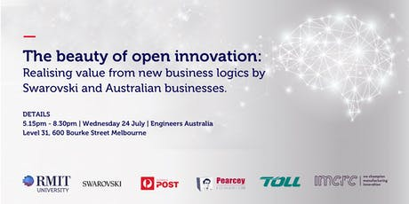RMIT GBIC - The beauty of open innovation: Realising value from new business logics by Swarovski and Australian businesses. tickets