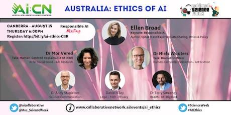 National Science Week - Ethics of Artificial Intelligence (Canberra) tickets