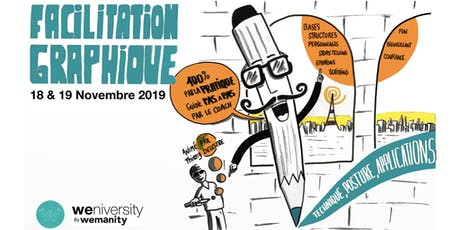 Formation Facilitation Graphique avec Thierry Delestre tickets