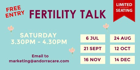 Andorra Fertility Talk tickets