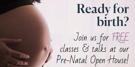 Pre-Natal Yoga Open House  tickets