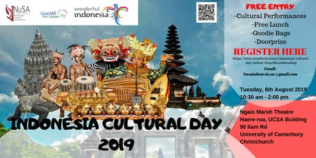 Indonesia Cultural Day tickets