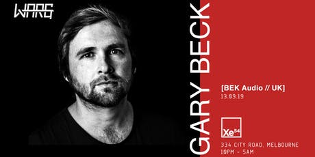 Warg presents Gary Beck (UK) tickets