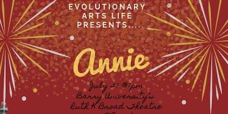 """""""Annie"""" the musical tickets"""