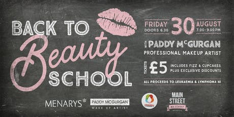Back to Beauty School with Paddy McGurgan tickets