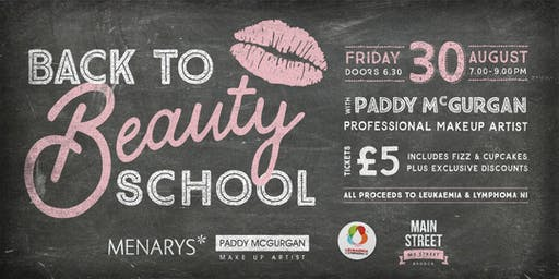 Back to Beauty School with Paddy McGurgan