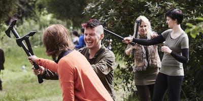 Swordpunk 10. A festival of weapon skills