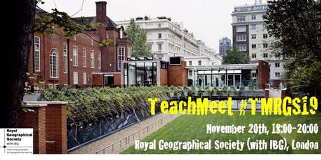 TeachMeet RGS(IBG) #TMRGS19 tickets