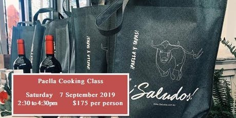 Paella Cooking Class tickets